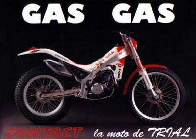 Gas Gas Trial Contact 1992