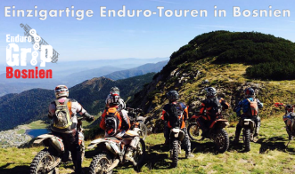 Enduro in Bosnien